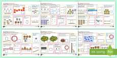 Year 1 Spring 1 Maths Activity Mats English/Romanian