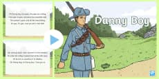 Danny Boy Song PowerPoint