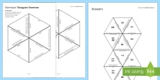 * NEW * Electrolysis Tarsia Triangular Dominoes