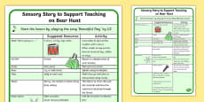 Sensory Story to Support Teaching on Bear Hunt