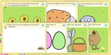 Easter Playdough Mats Gaeilge