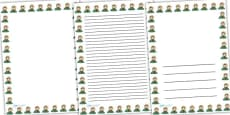Mary Anning Page Borders