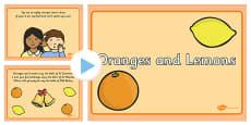 Oranges and Lemons Nursery Rhyme PowerPoint