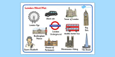 London Word Mat