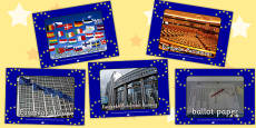 European Elections Display Photos