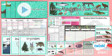 PlanIt - Science Year 4 - Living Things and Their Habitats Unit Pack