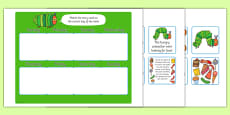 Days of the Week Matching Game to Support Teaching on The Very Hungry Caterpillar