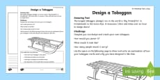 Design a Toboggan Activity Sheet