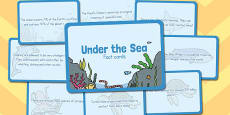 Amazing Under the Sea Display Fact Cards