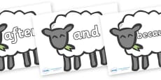 Connectives on Sheep