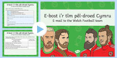Euro 2016  Email to the Welsh Team PowerPoint