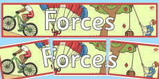 Forces Display Banner