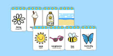 Summer Flashcards Romanian Translation