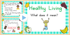 Australia - EYFS Healthy Eating and Living PowerPoint