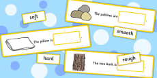 Fill In The Adjective Basic Concept Sentences Matching Activity (Set Three)
