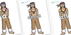 100 High Frequency Words on Native Americans