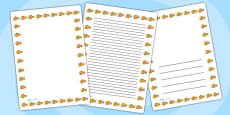 Goldfish Page Borders