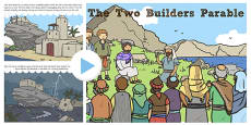 The Two Builders Parable PowerPoint