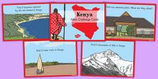Kenya Atlas Challenge Cards