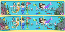 Australia - The Little Mermaid Display Banner