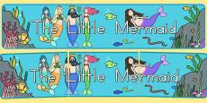Australia - The Little Mermaid Display Banner