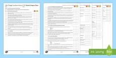 AQA Trilogy Unit 5.1 Atomic Structure and the Periodic Table Student Progress Sheet