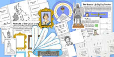 The Queen Lapbook Creation Pack