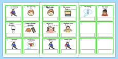 EAL Emergencies Editable Cards with English Urdu Translation