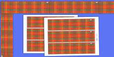 Tartan Display Borders