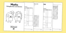 Year 3 Maths Multiplication and Division Workbook