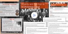 A Christmas Carol Lesson Pack 4: Poverty and the Poor - Stave Three