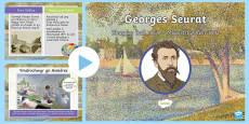 Pŵerpwynt Georges Seurat