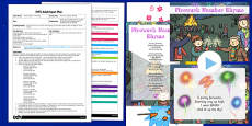 Fireworks Number Rhyme EYFS Adult Input Plan and Resource Pack