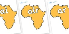 Phase 3 Phonemes on Africa