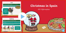 KS1 Christmas in Spain PowerPoint