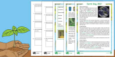 KS2 Earth Day Differentiated Comprehension Go Respond  Activity Sheets