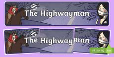 The Highwayman Display Banner
