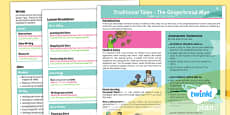 PlanIt Y2 The Gingerbread Man Topic Overview