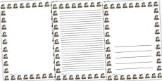 Christopher Columbus Page Borders