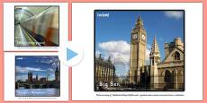 London Landmark Photos PowerPoint