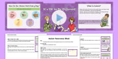 World Autism Awareness Week Whole School Assembly Script and PowerPoint Pack