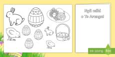 * NEW * Easter Gift Card Template Te Reo Māori