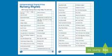 * NEW * Intergenerational Singing Activity Sheet