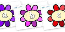 Phase 2 Phonemes on Flowers