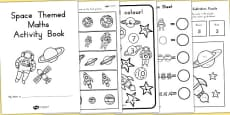 Space Themed KS1 Maths Activity Book (Australia)