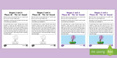 Northern Ireland Linguistic Phonics Stage 5 and 6 Phase 3b, 'oo' Sound Activity Sheet