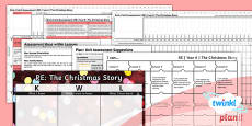 PlanIt - RE Year 6 - The Christmas Story Unit Assessment Pack