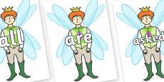 Tricky Words on Fairy Prince