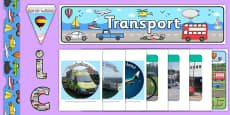 Transport Themed Display Pack