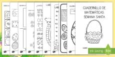 * NEW * Cuadernillo de matemáticas: Semana Santa